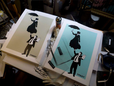 """""""No Fly List"""" / Mary Poppins Print"""