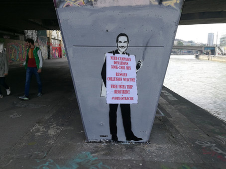 Strache Out On The Streets