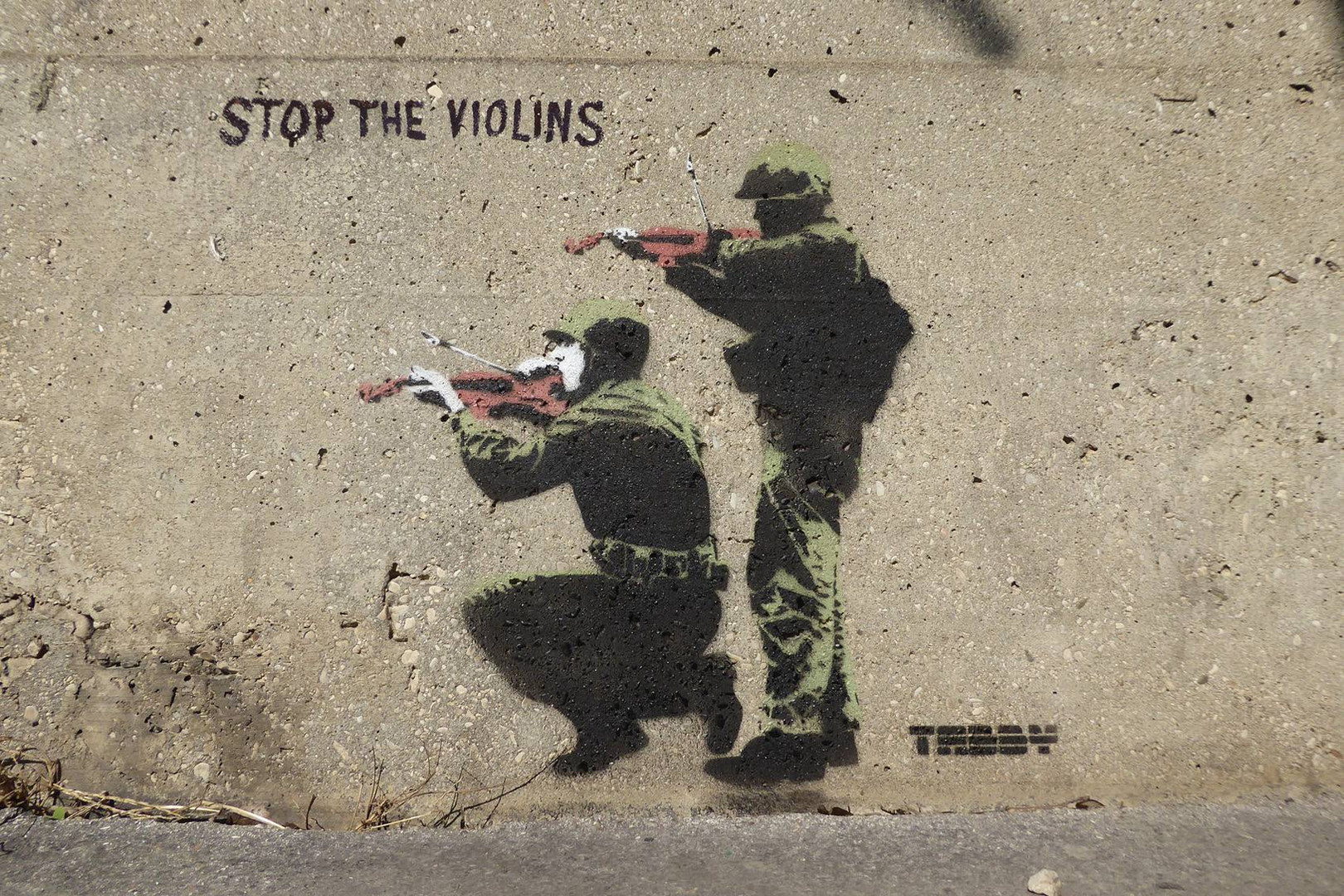 Stop the violins