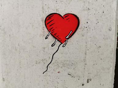 Heart Man - Heart Balloon
