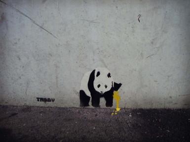 Pissing Panda