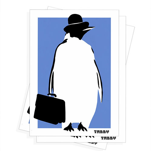 Stickers - Business Penguin