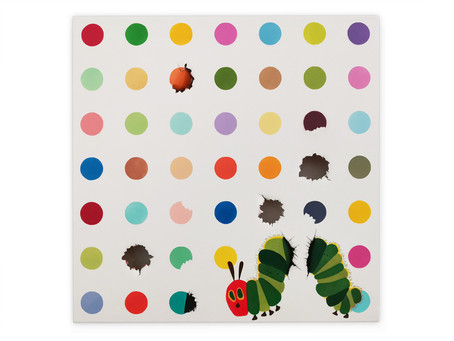 The Very Hungry For Art Caterpillar
