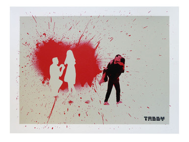 """When Love Hits You"" Print"