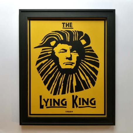 Lying King Print