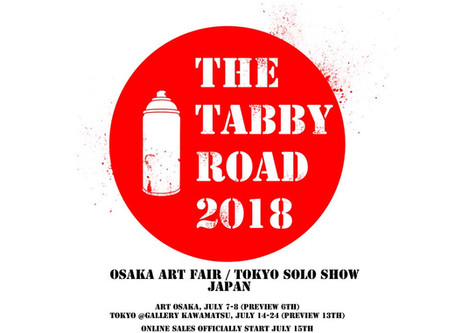 TABBY Road Japan exhibition
