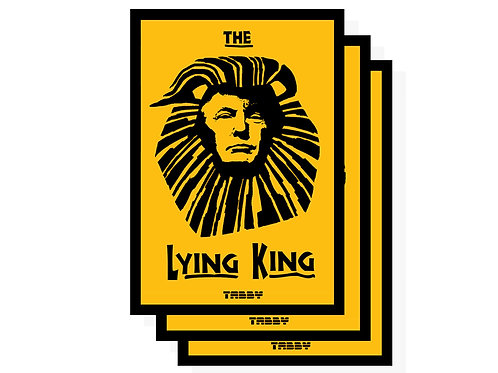 Stickers - The Lying King