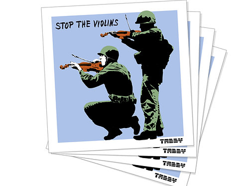Stickers - Stop The Violins