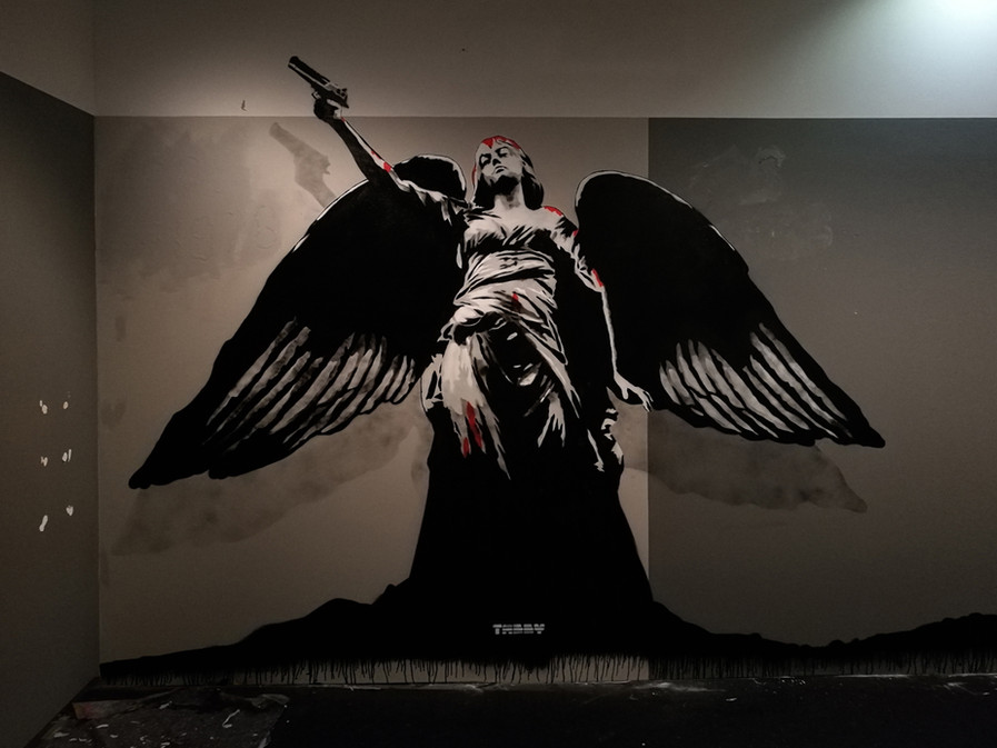 Tabby angel of death