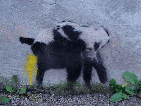 Pissing Elephant