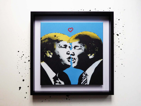 """Love Trumps All"" Canvas"
