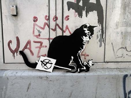 TABBY Cat vs. BANKSY Rat – Anarchy