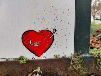 Heart Man - Confetti. So long 2020