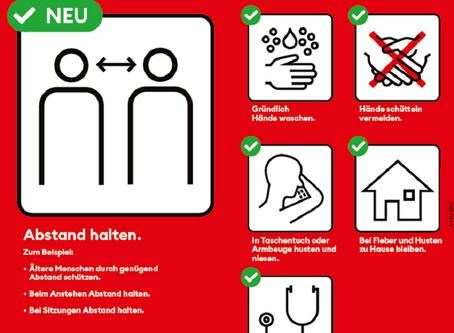 Aktuelle Information Covid-19 Pandemie