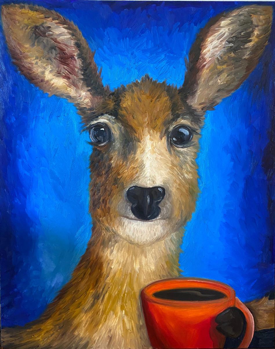 Good Morning Deer