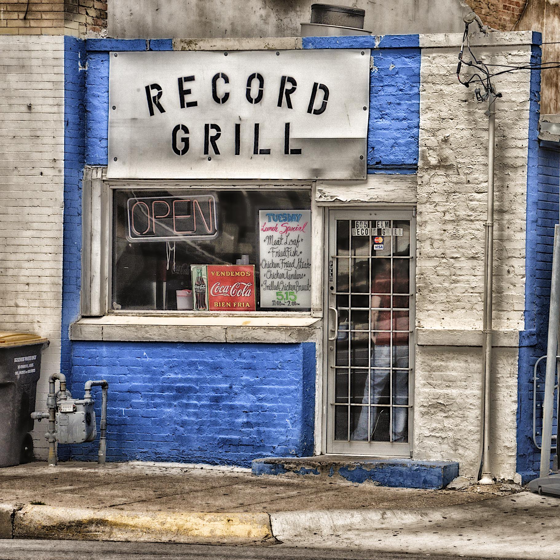 Record Grill - Chicken Fried Steak