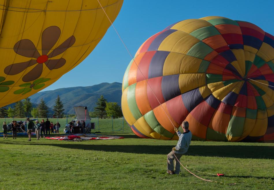 Balloon Festival in El Jebel, Colorado.j