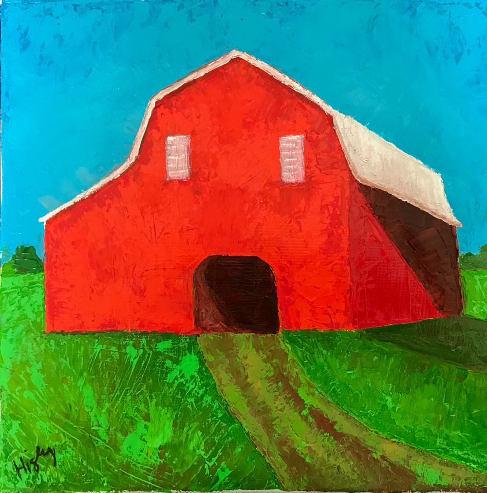 Red Barn 12x12
