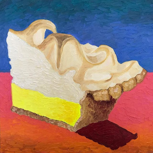 Lemon Meringue Pie 12x12