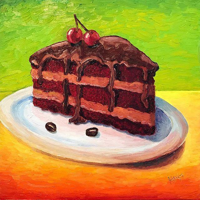Chocolate cake 12x12