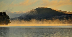 Sunrise over Beecher's Island