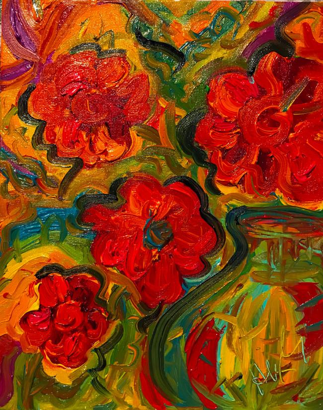 Poppies 8x10