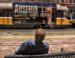 Arsenio is watching you