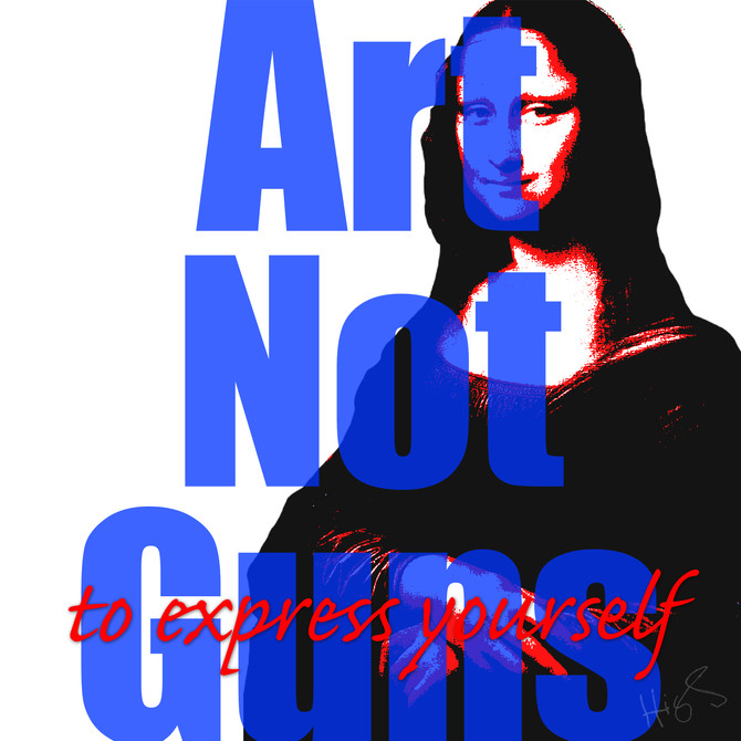 Art Not Guns