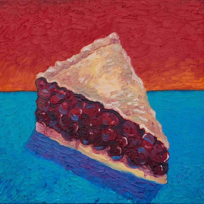 Cherry Pie 12x12