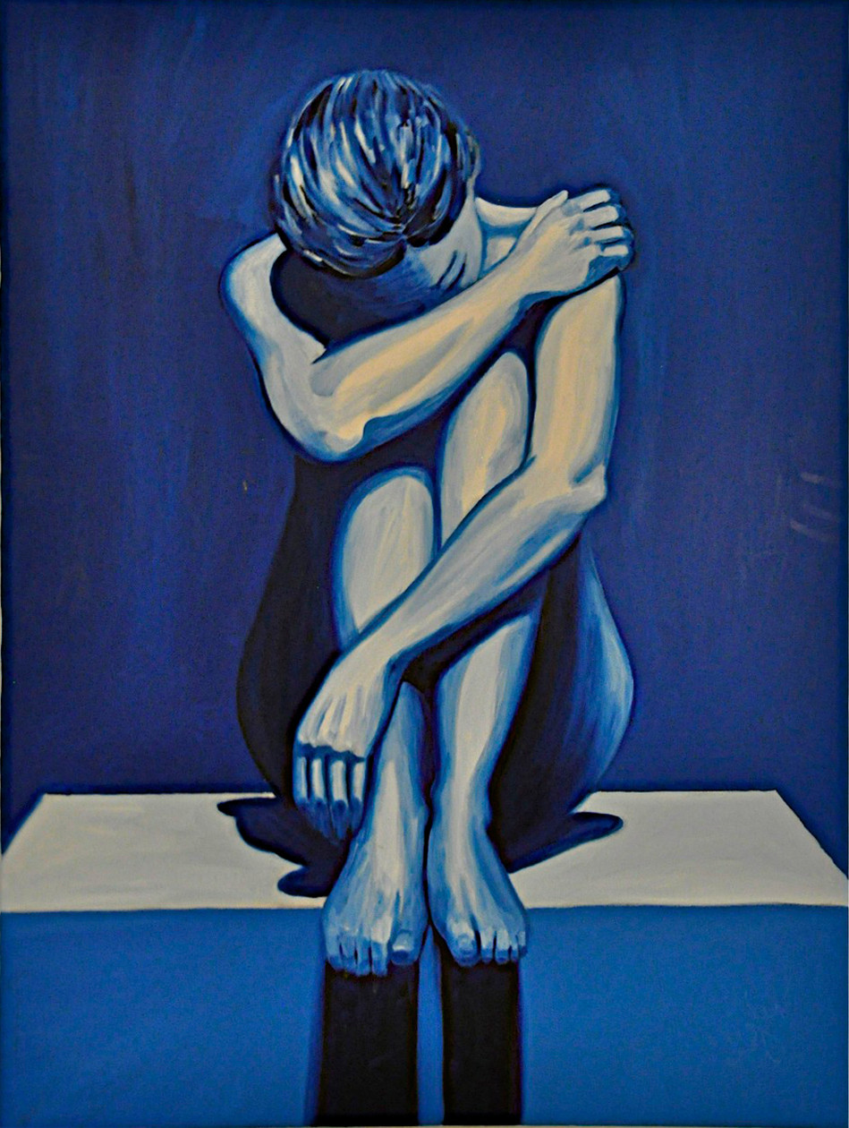 Blue Woman-sold