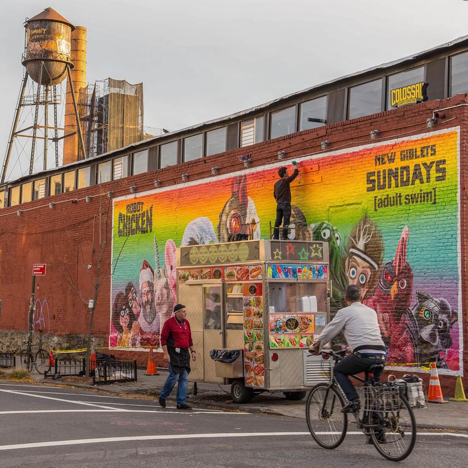 Mural Painter in Brooklyn