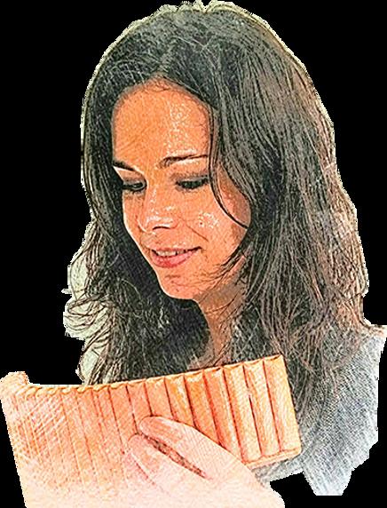 Panflöte Sandra Scherrer Musikstudium SMPV Klassik 9240 Uzwil SG St. Gallen Ostschweiz dipl. Panflötenlehrerin Klassik