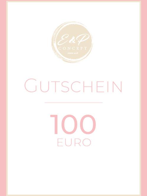 """Gutschein""""100€"""""""