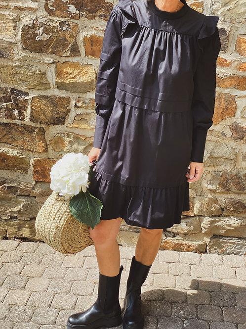 Eva Mann Kleid Hanne schwarz