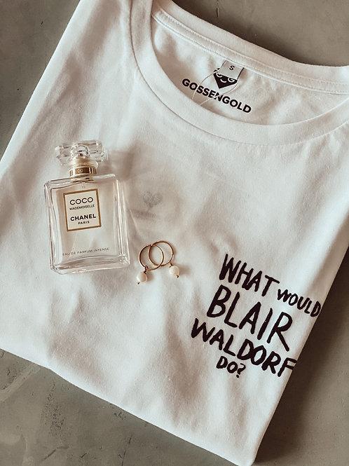 Gossengold T-Shirt Blair  weiß