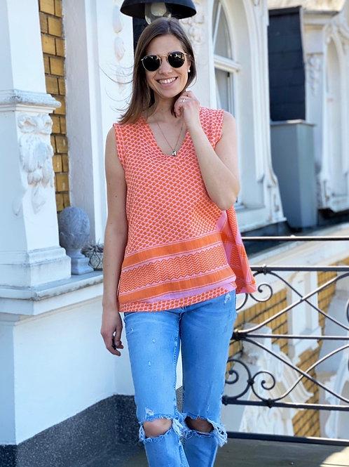 "Cecilie Copenhagen Shirt/Bluse ""Tangerine"""