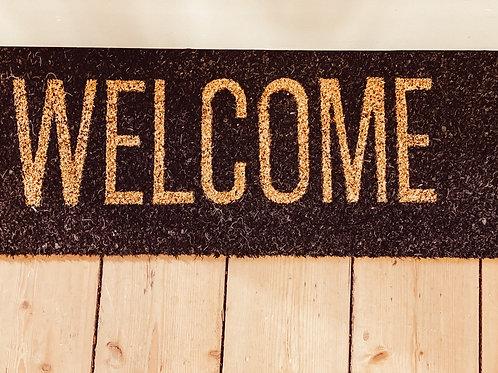 """Fußmatte """"Welcome"""""""