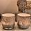 Thumbnail: Teelicht marmoriert grau
