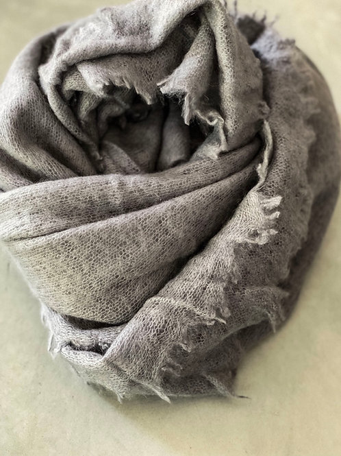 Pur Schoen Kaschmirschal Stone Grey