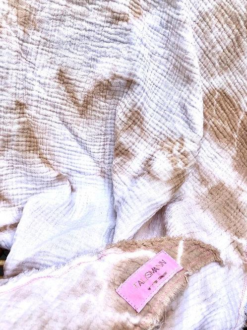 Mein Talismann 3 Eckstuch Batik