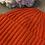 Thumbnail: Zwillingsherz Kaschmirbeanie orange
