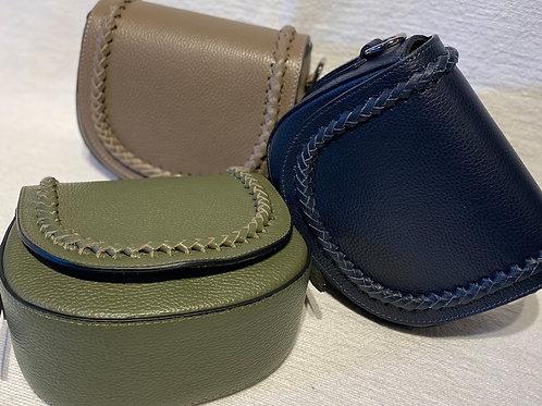 Umhängetasche Leder verschiedene Farben