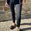 Thumbnail: Skinny Jeans  Zipper schwarz