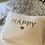 "Thumbnail: Musselin Clutch ""happy""verschiedene Farben"