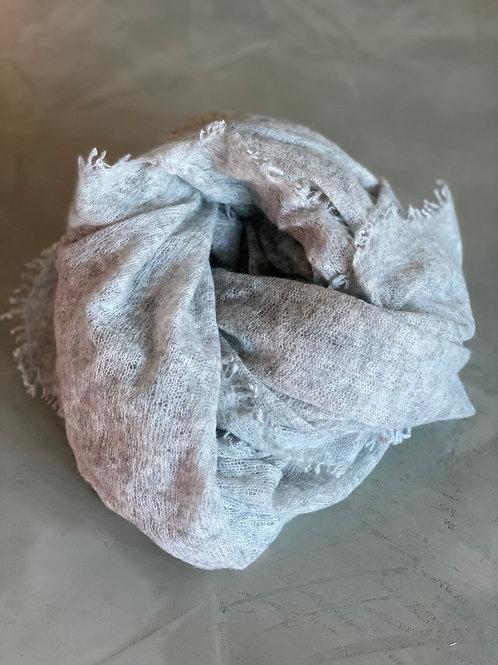Pur Schoen Kaschmirschal Silber