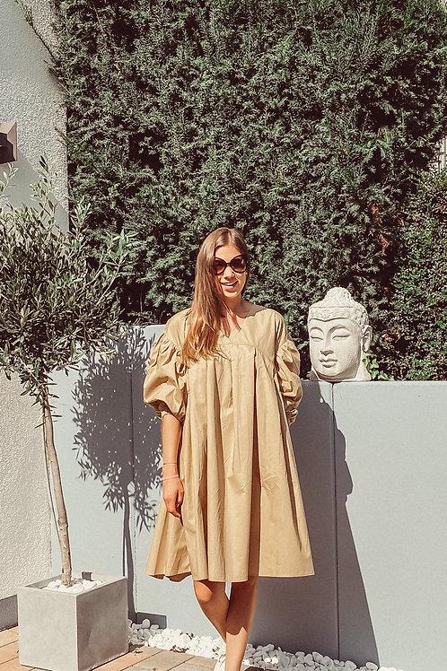 Kleid Frieda Beige