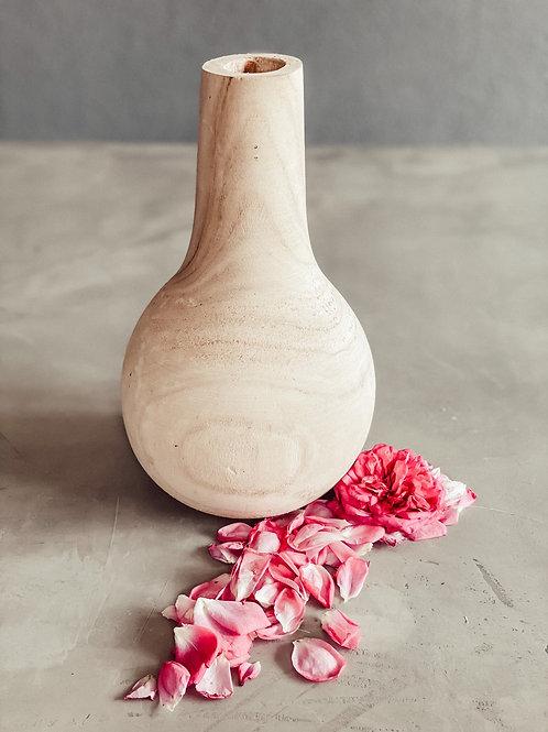 Vase / Holzvase klein
