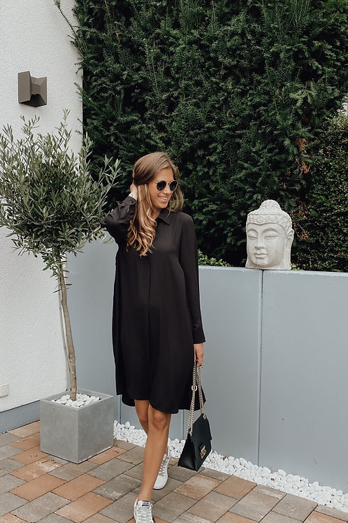 Janice&Jo Blusenkleid schwarz
