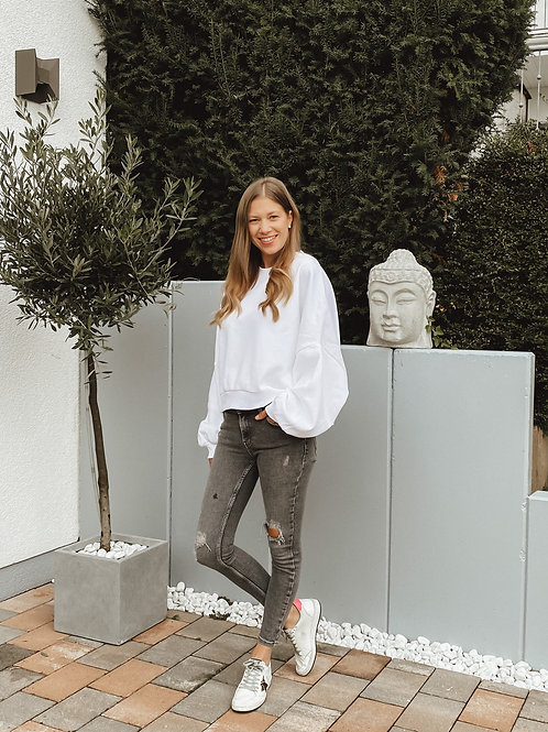 Rockamora Sweater Samira white