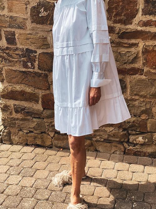 Eva Mann Kleid Hanne weiß